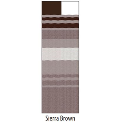 "Picture of Carefree  13' 2"" Siera Brown Dune Stripe w/ W WG Vinyl Patio Awning Fabric JU148A00 00-1631"