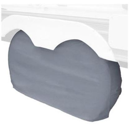 "Picture of Classic Accessories  1-Pack Gray 30"" to 33"" Diam Double Tire Cover 80-210-051001-00 01-0032"