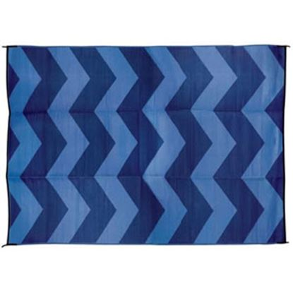 Picture of Camco  9' x 12'  Blue Camping Mat 42858 01-0742