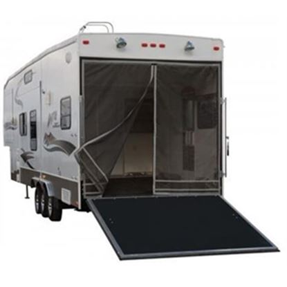 "Picture of Classic Accessories Poly 1 Rip & Grip Strip/Magnetic Opening 90-1/2""H Trailer Tailgate Screen 79994 01-3781"