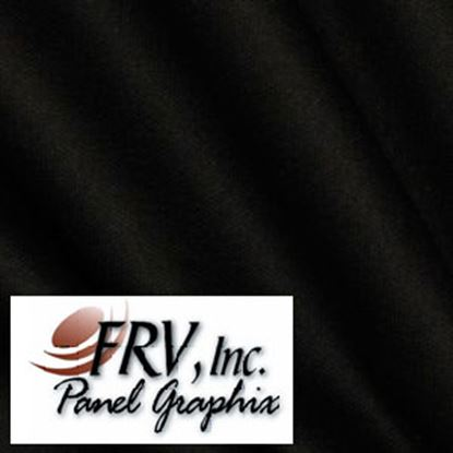 Picture of FRV  N300 Black Acrylic Refrigerator Door Panel N300L 07-0631