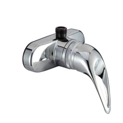 """Picture of Dura Faucet  4"""" Chrome Plated Plastic Shower Valve w/Lever Handle DF-SA150-CP 10-1350"""