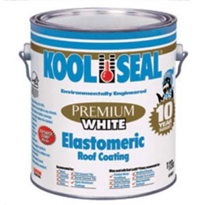 Picture of Kool Seal  0.9 Gal Bucket White Roof Coating For Rolled And Built Up Roofs KS0063600-16 13-0705