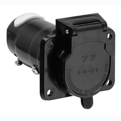 Picture of Bargman  7-Way Blade Car End Trailer Connector w/o Wire Lead 50-77-001 19-0932