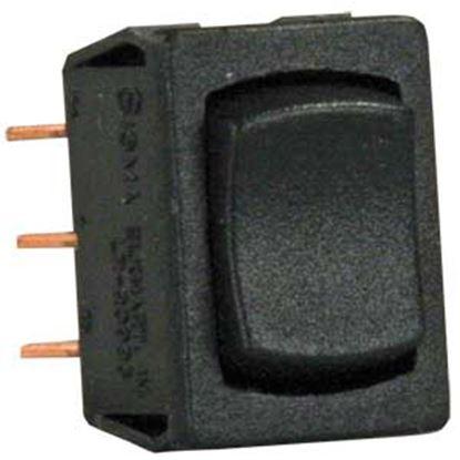 Picture of JR Products  Black 125V/ 13A SPDT Rocker Switch 13335 19-2123