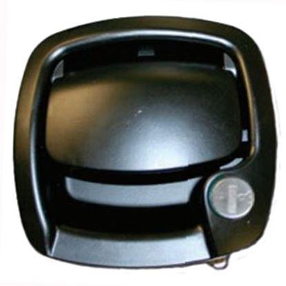 Picture of Trimark  Black Paddle Access Door Latch 19583-08 20-0521