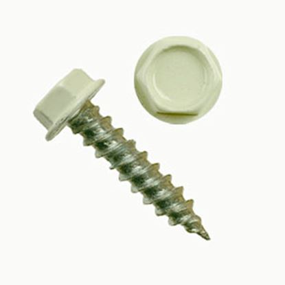"Picture of AP Products  100-Pack #8 X 3/4""L Hex Washer Head Screw 012-TR100 8 X 3/4 20-0856"