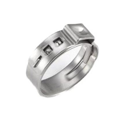 "Picture of BestPEX  10-Pack Stainless Steel 1/2"" Oetiker Hose Clamp 61118 69-9021"
