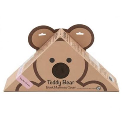 "Picture of Lippert Teddy Bear Bunk Series Chocolate PU Synthetic Fiber 28""X74""X3""D Bunk Mattress Protector 679278 71-5378"