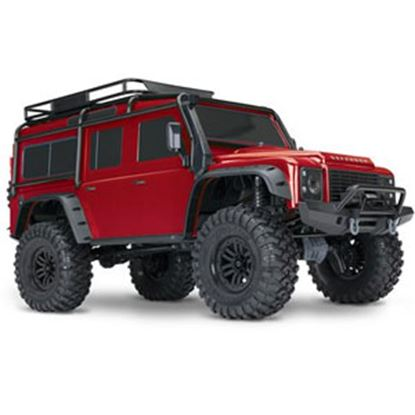 Picture of   Red TRX4 Ready-To-Race RC Crawler w/ Land Rover Body 82056-4_RED 71-7954